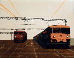 Čvorište 3 / 105x130 cm / 2003.