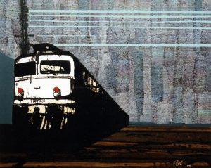Čvorište 4 / 105x130 cm / 2003.