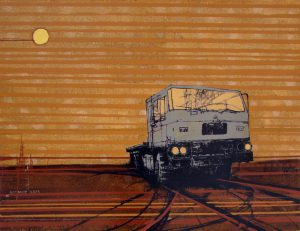 Rust Never Sleeps 6 / kombinirana tehnika / 100x130 cm / 2009.