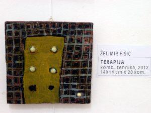 Terapija 15 / kombinirana tehnika / 14x14cm / 2012.